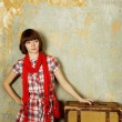 Travel gal — Stock Photo