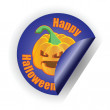 Halloween stiker. vector ilustration. — Stock Vector