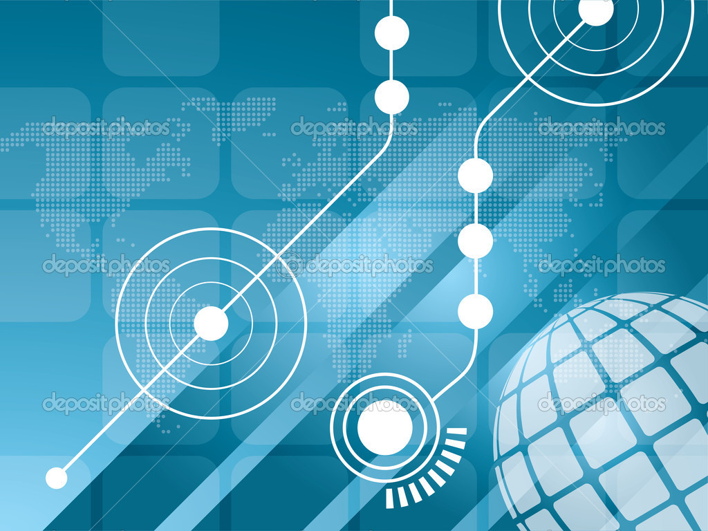 Technology background vector — Stock Vector © cifotart 5221423
