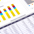 Financial Analysis with charts. — Stock Photo