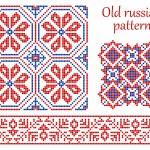 ������, ������: Old russian pattern