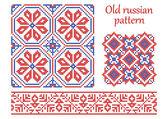 Oude russische patroon. — Stockvector