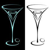 Martini. — Stock Vector