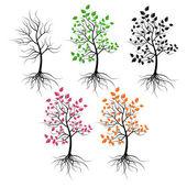 Trees. — Stock Vector