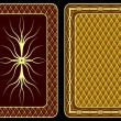 Playing cards. — Imagen vectorial