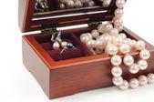 Joyería de la perla — Foto de Stock