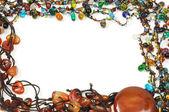 Jeweled border — Stock Photo