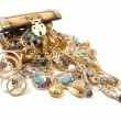 Treasure chest with jewelry — Stock Photo #4014758