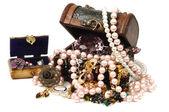 Jóias e accessoreis — Fotografia Stock