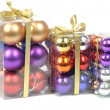 Christmas balls sets — Stockfoto