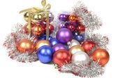 Christmas balls sets — Stock Photo