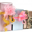 Gift boxes — Stock Photo #4190299