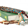 Muslim rosary beads and Quran — Stock Photo