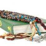 Постер, плакат: Muslim rosary beads and Quran