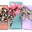 Gift boxes — Stock Photo #4190445