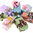 Gift boxes — Stock Photo #4190450