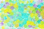 カラフルなボールの背景 — ストック写真