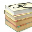 Books and stethoscope — Stock Photo #4541240