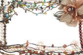 Jewelry frame — Stock Photo