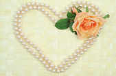 Pearls hear — Stock Photo
