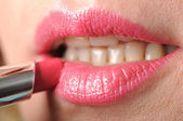 Pink lipstick — Stock Photo