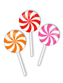 Candy on a stick — Stock Photo