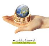Agency travel — Stock Photo