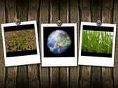 Polaroid frame — Stock Photo