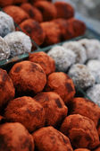 Balls of tamarind candy — Stock Photo