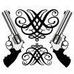 Revolver magnum — Stock Vector #4149194