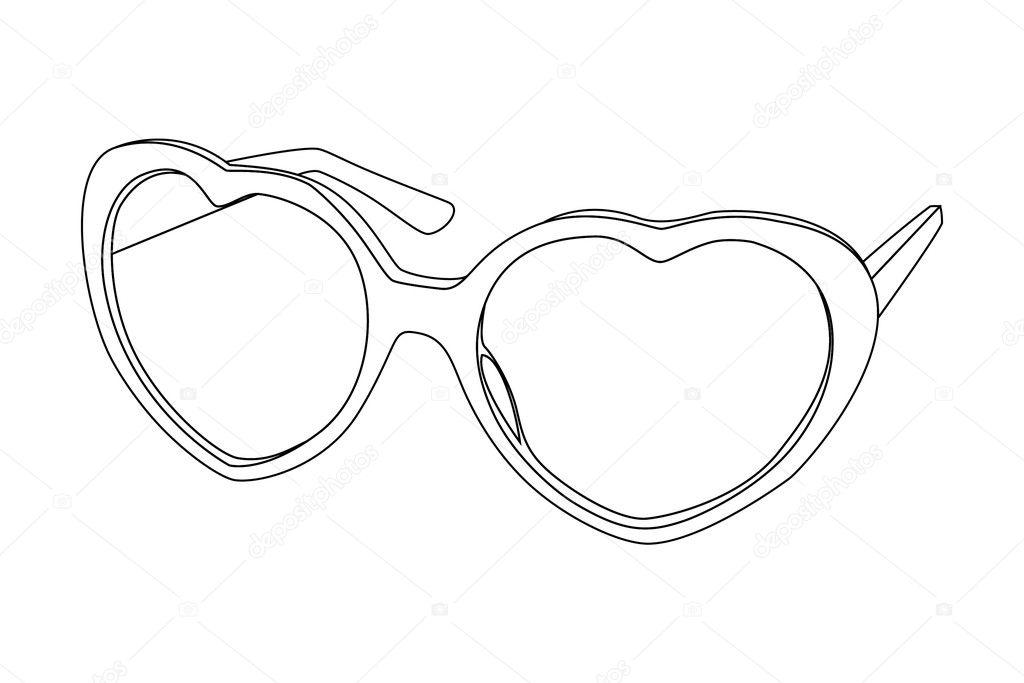 Sunglasses — Stock Vector © Chisnikov #4319058