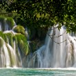 waterfall in krka national park in croatia — Stock Photo #4685917