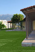 Güzel villa modern popüler otel, akdeniz — Stok fotoğraf