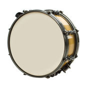Drum isolated on white — Stock Photo