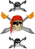 Pirate — Stock Vector