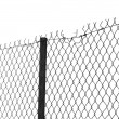 Chain link fence — Foto de stock #4334331
