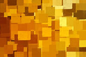 Yellow squares — Stock Photo