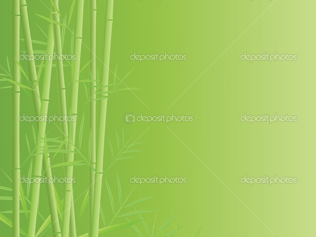 Vector bamboo background — Stock Vector #4209343