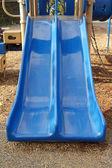 Blue slide — Stock Photo