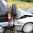 Stock Photo: Car accident