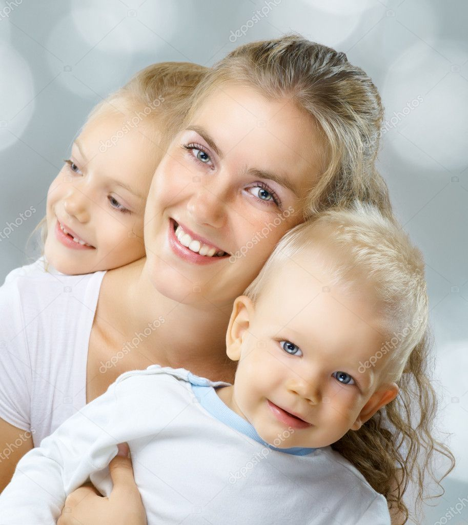 A very happy nice family get together  Stock Photo #4101670