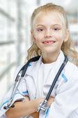 Happy doctor — Stock Photo