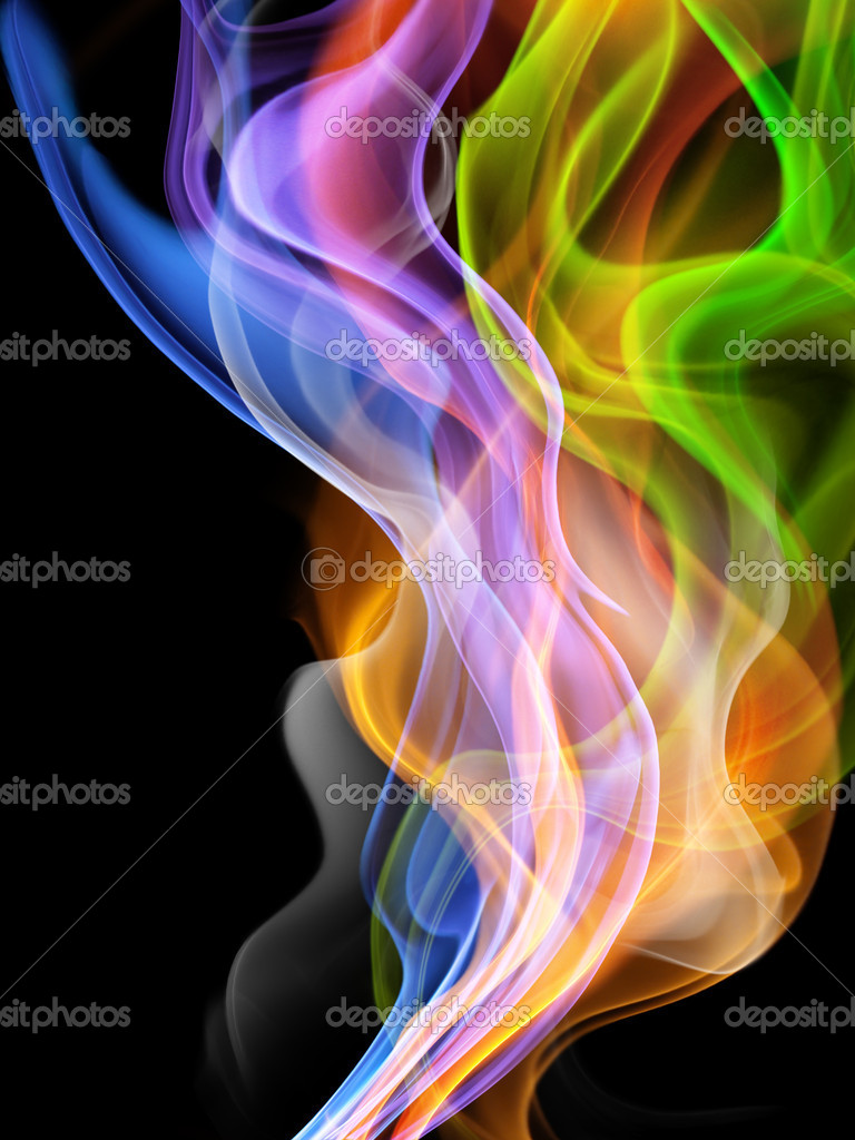 Blurry bright background abstraction with coloured lines — Stock Photo #4372586