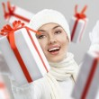 Christmas presents — Stock Photo #4493152