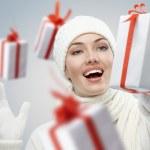 Christmas presents — Stock Photo #4508050