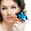 Butterfly woman — Stock Photo #5121491