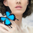 Butterfly woman — Stock Photo #5276505