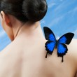 Butterfly woman — Stock Photo #5276513