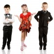 Fashionable children — Stock Photo #5250748