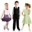 Fashionable children — Stock Photo #5250773